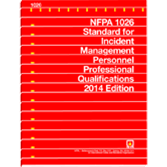 NFPA-1026(14): Standard for Incident Management Personnel Professional Qualifications