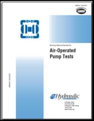 HI-B125 ANSI/HI 10.6-2010 Air-Operated Pump Tests