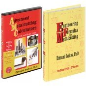 IP-32125 Advanced Metalcutting Calculators in U.S. & Metric Units and Engineering Formulas for Metalcutting, Combo Set