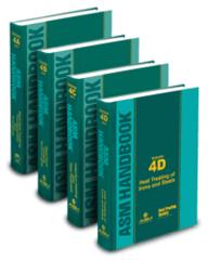 ASM-05449G ASM Handbook Volumes 4A, 4B, 4C, 4D Heat Treating Set