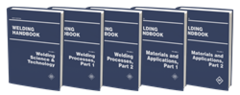 AWS- WHB-ALL Welding Handbook Set