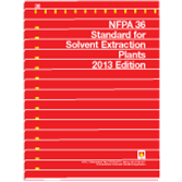 NFPA-36(13): Standard for Solvent Extraction Plants