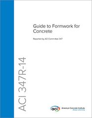 ACI-347R-14 Guide to Formwork for Concrete