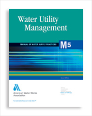 AWWA-M5 2005 Water Utility Management, Second Edition