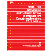NFPA-1583(15): Standard on Health-Related Fitness Programs for Fire Department Members (NFPA 1583)