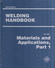AWS- WHB-4.9 Welding Handbook Volume 4 - Materials and Applications, Part 1