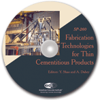 ACI-SP-260 Fabrication Technology for Thin Cementitious Products CD