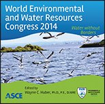 ASCE-41354 - World Environmental and Water Resources Congress 2014 - Water Without Borders