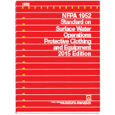 NFPA-1952(15): Standard on Surface Water Operations Protective Clothing and Equipment
