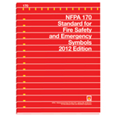 NFPA-170(12): Standard for Fire Safety and Emergency Symbols