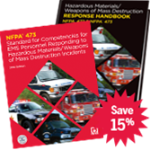 NFPA-473(13)HBK: Standard for Competencies for EMS Personnel Responding to Hazardous Materials/Weapons of Mass Destruction Incidents (HANDBOOK)