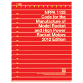 NFPA-1125(12): Code for the Manufacture of Model Rocket and High Power Rocket Motors