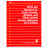 NFPA-502(14): Standard for Road Tunnels, Bridges, and Other Limited Access Highways