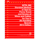 NFPA-262(15): Standard Method of Test for Flame Travel and Smoke of Wires and Cables for Use in Air-Handling Spaces