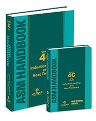 ASM-05501Z-BK+DVD ASM Handbook Volume 4C: Induction Heating and Heat Treatment, Book + DVD Set