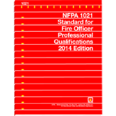 NFPA-1021(14): Standard for Fire Officer Professional Qualifications