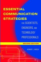 IEEE-27317-2 Essential Communication Strategies: For Scientists, Engineers, and Technology Professionals, 2nd Edition