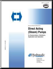HI-M116 ANSI/HI 8.1-8.5-2000 Direct Acting Pumps