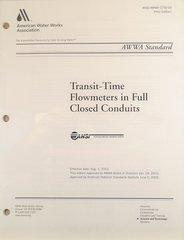 ANSI/AWWA-C750-03 Transit-Time Flowmeters in Full Closed Conduits