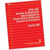NFPA-1981E(07): Aparatos de Respiracion Auto-Contenidos de Circuito Abierto (SCBA) para Servicios de Emergencia