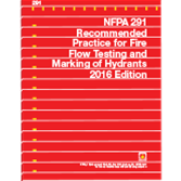 NFPA-291(16) Recommended Practice for Fire Flow Testing and Marking of Hydrants (NFPA 291)