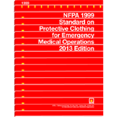 NFPA-1999(13): Standard on Protective Clothing for Emergency Medical Operations