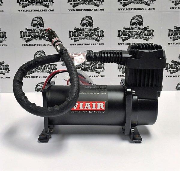 VIAIR 380C Compressor STEALTH BLACK