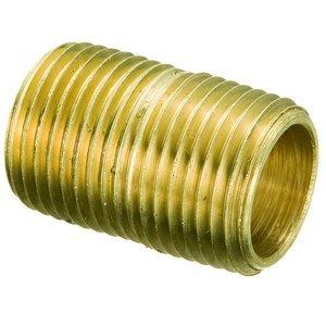 """Brass Close Nipple 1/8"""" NPT"""