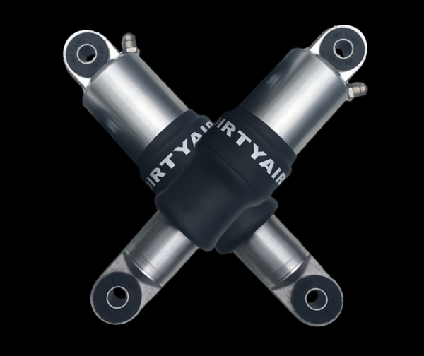 DIRTY AIR Basic Front and Rear Air Suspension System V-ROD