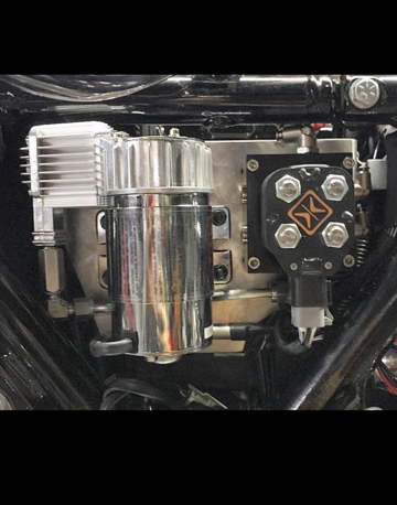 DIRTY AIR '14-up 100C / VU2 bracket behind right side cover