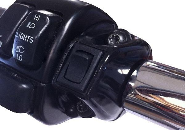 • Handlebar Grip Switch - Black