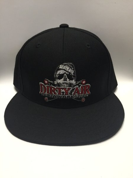 DIRTY AIR Flat Bill SnapBack Hat