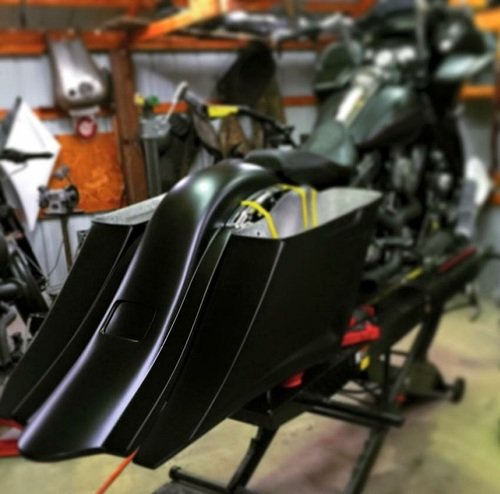 TOL DESIGNS - COMPETITION KILLERS Bags+Fender 2014-UP