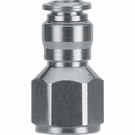 """1/8""""FNPT x 1/8"""" Tube Push-to-connect"""