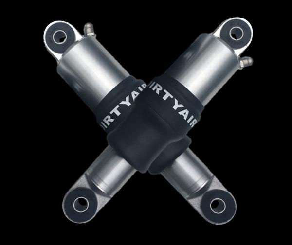 DIRTY AIR V-Rod Night Rod Rear Air Shocks