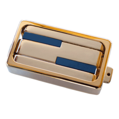 Alumitone Humbucker Plated Gold with Trim Ring
