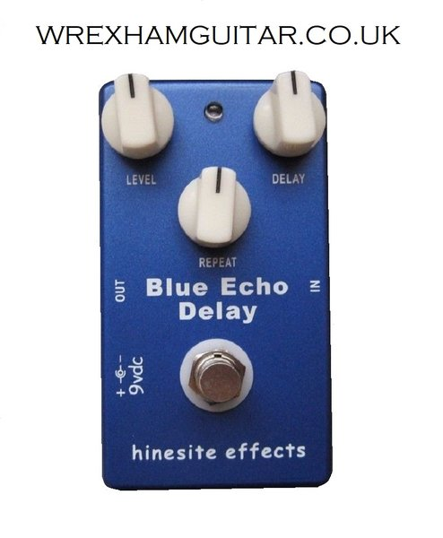 NEW HINESITE BLUE ECHO GUITAR EFFECT PEDAL STOMPBOX