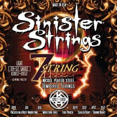 SINISTER STRINGS ELECTRIC GTR 7 STRINGS