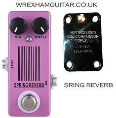 MOSKY SPRING REVERB MINI GUITAR EFFECT PEDAL STOMPBOX