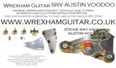 Stevie Ray Vaughan SRV Austin Voodoo Wiring Kit