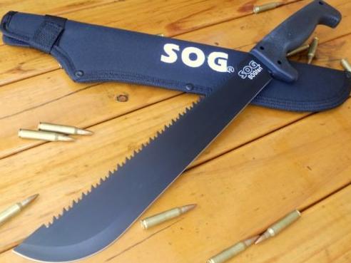 Sog Sogfari 13 Quot Inch Machete Sword Hunting Fighting