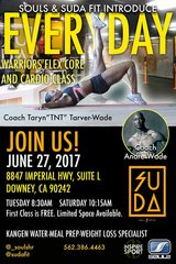 INSIRE WORKOUT! @ SUDA COACH ANDRE WADE