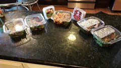 Meals prepared for 5 days Pick up only
