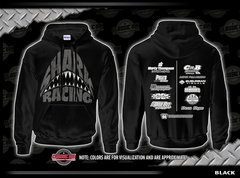 Shark Attack  Black Sport Tek Hoddie