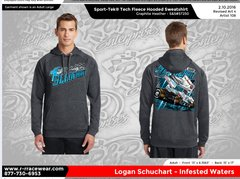 Logan Schuchart Sport Tek Hoodie