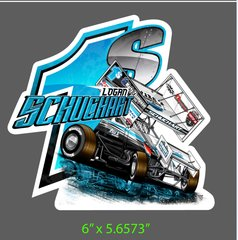 Logan Schuchart Infested Waters Decal