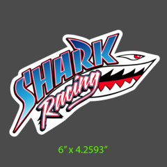 Shark Racing Decal