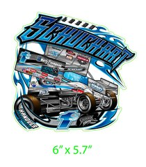 Logan Schuchart Shark Attack Decal