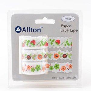 Paper Decorative Tape, Lace, SKU: TPB180035