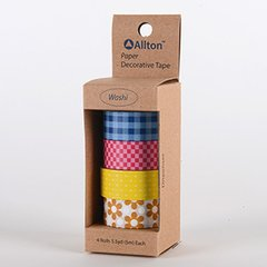 Paper Decorative Tape, Checker, SKU: TPX150021